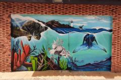 Mural at El Faro de Rincón (Rincón Lighthouse)