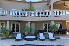 Relax in our comfortable poolside lounge chairs