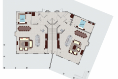 Full Villa Layout - Downstairs