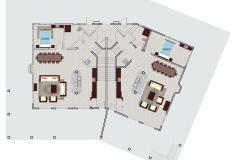 Full Villa Layout - Downstairs