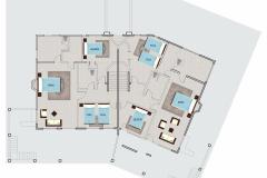 Full Villa Layout - Upstairs