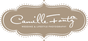 camille fontz wedding photography logo