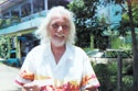 Ramón en El Faro's Cafe, 2000