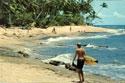 Surfistas en la playa María, 1968