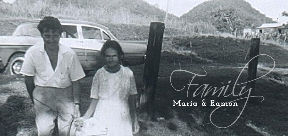 Family - Maria and Ramon