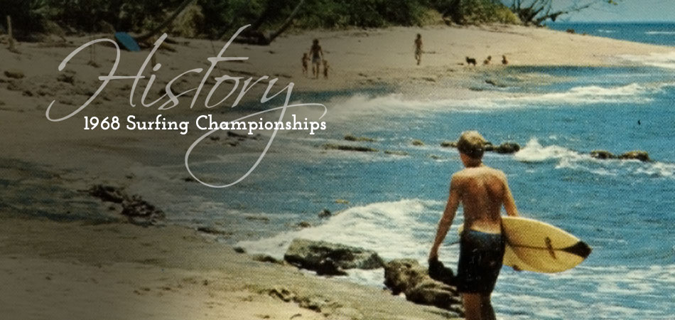 History - 1968 Surfing Championships